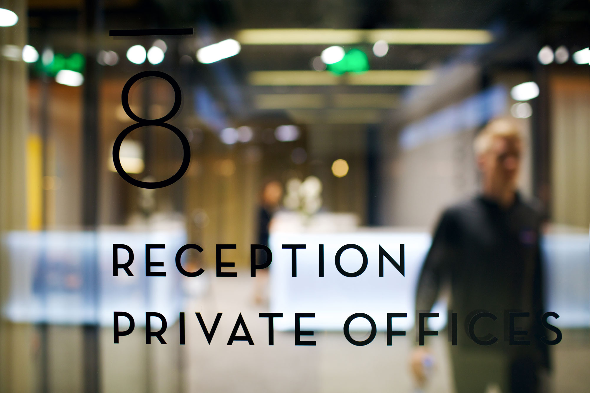 Reception of Private Offices